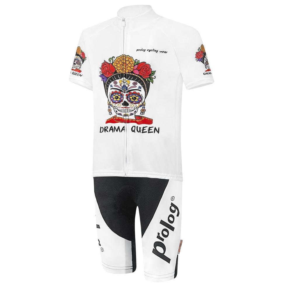 Madchen Fahrradtrikot Halbarm Und Kurze Tragerhose Drama Queen Prolog Cycling Wear 2020